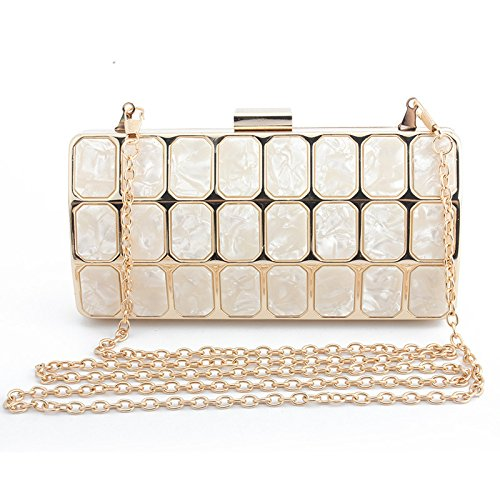 for for Clutch Shoulder for with Bag Long Small Gold Wedding with Bag Wallet Evening Handbag Handbag Party for Ceremony Cocktail Elegant Women Evening Bag 5Xq6wtH