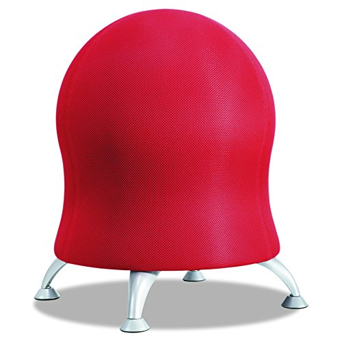 Safco Products 4750CI Zenergy Ball Chair, Crimson by Safco Products