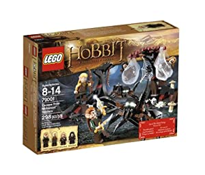 Lego The Hobbit Escape From Mirkwood Spiders by LEGO