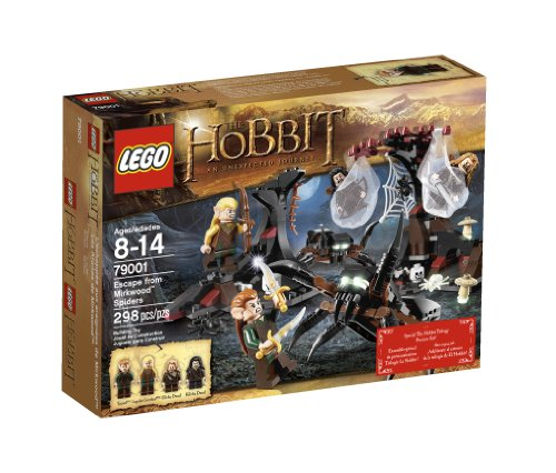 The Hobbit Escape from Mirkwood - With Lego The Sets Spiders Hobbit