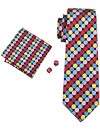 Men's Polka Dot Tie New Fashion Necktie Set