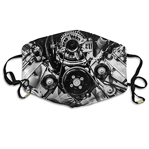 Big Block Engine Unisex Face Mouth Mask Ear-loop Dust Protecting Mask Cycling Reusable Mask