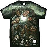 The Walking Dead Zombies Under the Moon Graphic T-Shirt XL