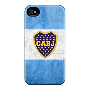 Excellent Hard Phone Case For Iphone 5s (Qos13345ivOE) Provide Private Custom Stylish Boca Juniors Arg Skin