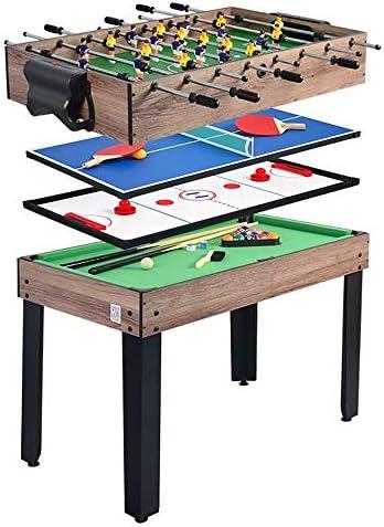 多機能子供のテーブルサッカー機、ビリヤードテーブル、卓球、アイスホッケー折りたたみボール表