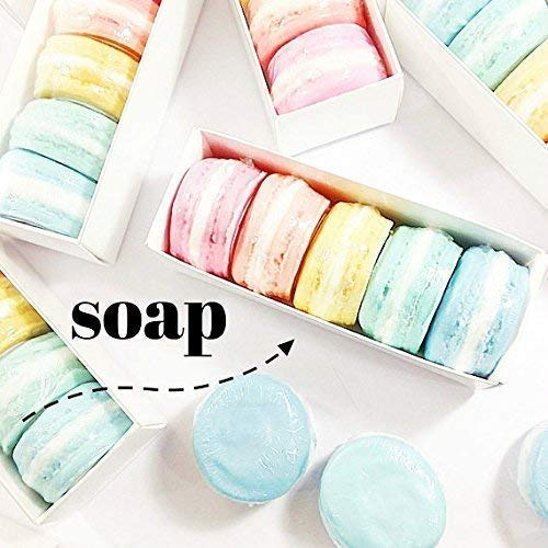 French Macaron Soap Boxed Gift Set Birthday For Her Handmade In USA