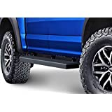 "Matte Black 5"" iBoard Running Boards Fit 15-17 Ford F-150 SuperCrew Cab"