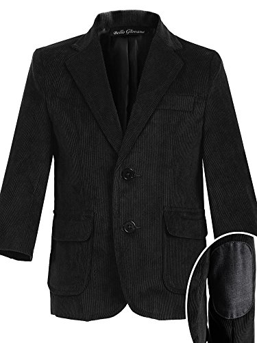 Bello Giovane Boys Single Breasted Corduroy Blazer Jacket