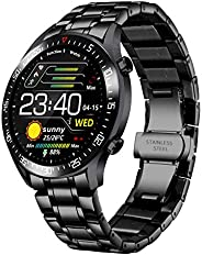 Smart Watch Men, Activity Tracker, 1.4 Inch Large Screen Fitness Watches with Health Monitor Blood Pressure Pe