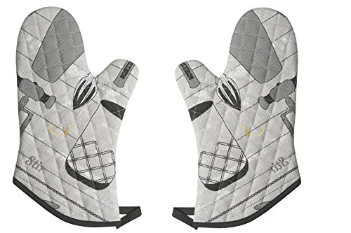 Now Designs Basic Oven Mitts, Bar Tools, Set of 2