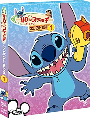 Disney - Lilo & Stitch The Series / Compact Box 1 (4DVDS) [Japan DVD] VWDS-5852