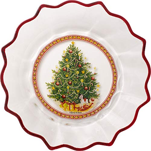 (Villeroy & Boch Christmas Glass Accessories Glass Bowl, 25 cm, in Box Christmas Tree)
