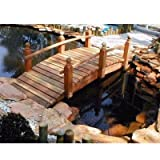 Whitehead Redwood Garden Bridge Size - 10 feet