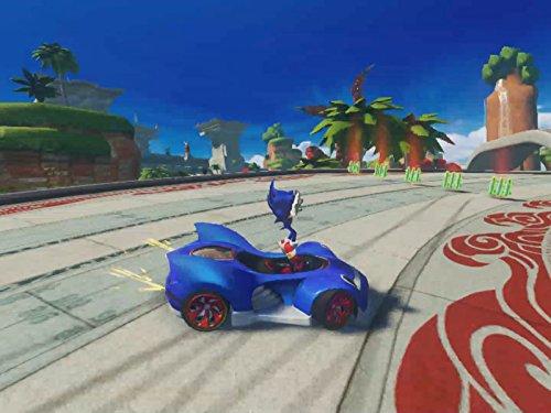 Clip: Sonic The Hedgehog Seaside Skirmish (Speedway Racing)