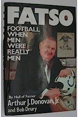 Fatso: Football When Men Were Really Men Hardcover