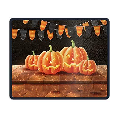 Mousepad, Non-Slip Rubber Mouse Pad Happy Halloween Jack Lanterns Gourd Mouse Pad Mat