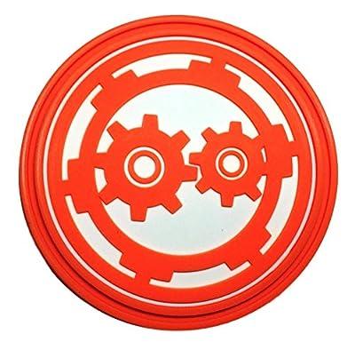 New Horizons Production The Orville Orange/White Engineering Symbol PVC Cosplay Pin
