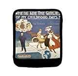 Where Girlie Of My Childhood Days Poster Luggage Handle Wrap Finder