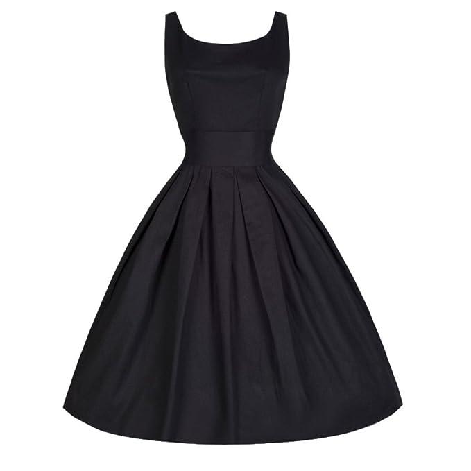 BaZhaHei Vestidos de Mujer Falda Vestido de Noche de Rockabilly ...