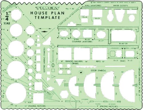 Timely 30T House Plan Template by Timely