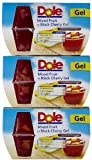Dole Mixed Fruit in Black Cherry Gel 4 pk (Pack of 6)