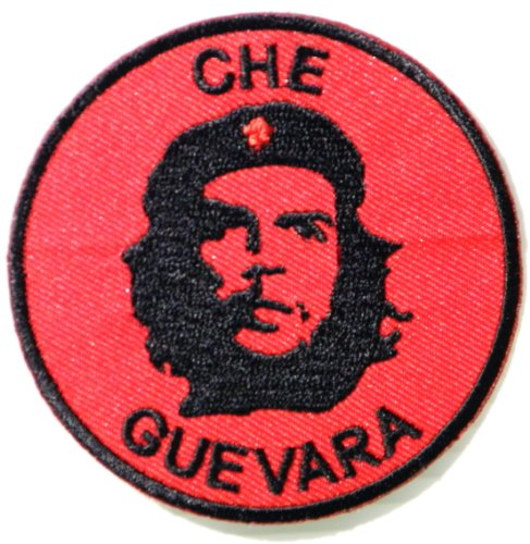 Uniform School Old Costumes Baseball (CHE GUEVARA Army Military Jacket T-shirt Patch Iron on Embroidered Applique Sign Badge)