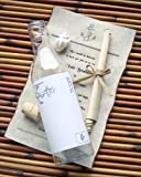 Message In A Bottle ® Destination Wedding Invitation Sample - Anchors Aweigh