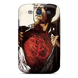 Scratch Resistant Hard Phone Cases For Samsung Galaxy S3 With Custom HD Daredevil I4 Pattern JamieBratt