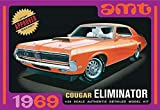 AMT 1969 Mercury Cougar 1/25 Scale Model Car Kit Orange