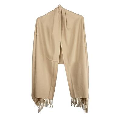 9200ebcd4b2e RUIXIA Écharpe Châle Femme Hiver Long Douce chaude Vogue Wrap châle Plaid  en Cachemire d