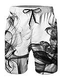 NEWISTAR Boys Teens 3D Graphic Shorts Swimming Shorts Summer Beach Shorts Swimming Trunks 3XL