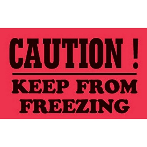 keep from freezing label - 9