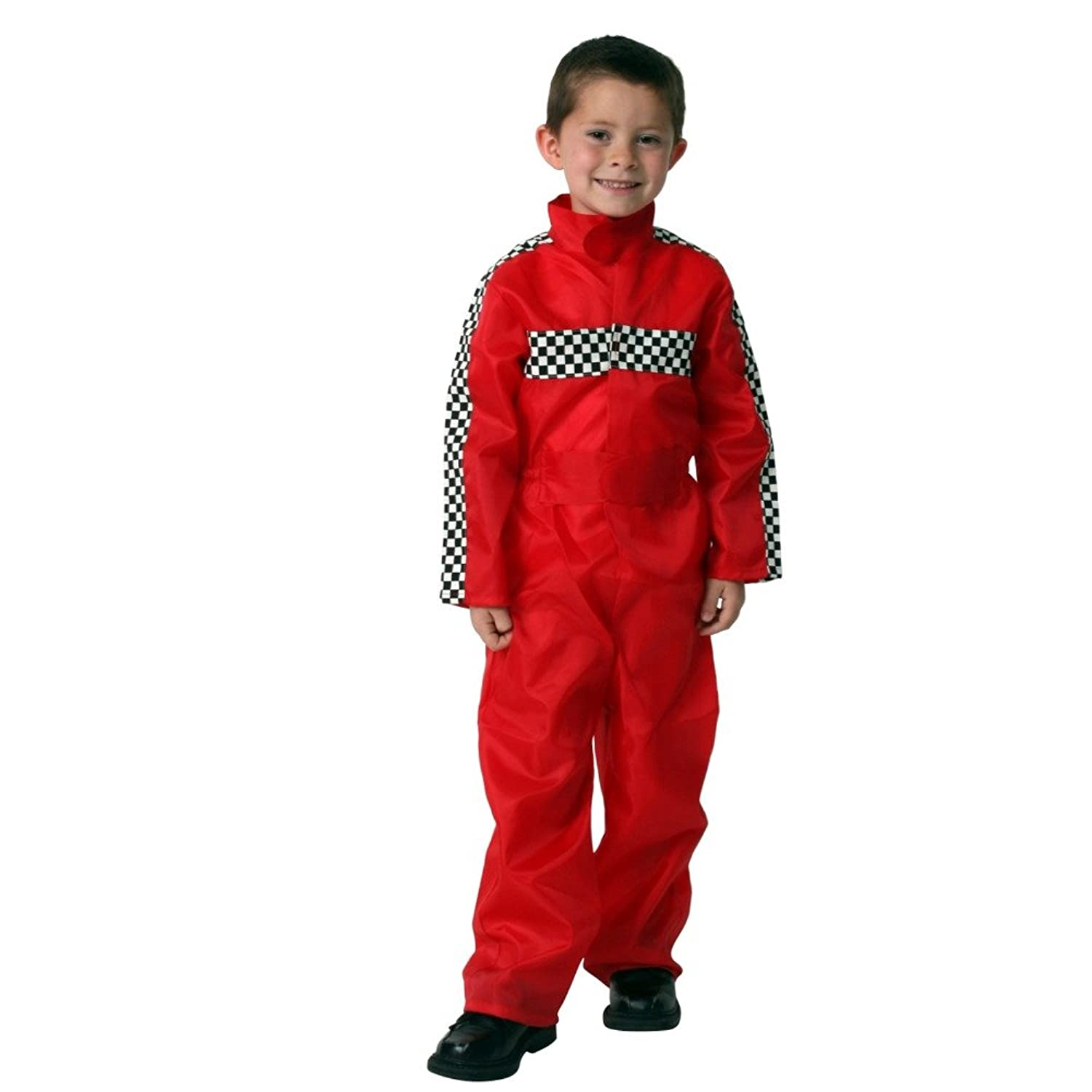 amazoncom boys red racecar driver jumpsuit size 46 clothing