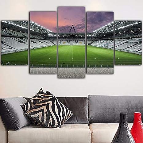xzfddn 5 Pezzi Stampe Sportive Wall Art Abstract HD ...