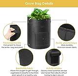 Hyindoor Round Planting Grow Bags Soft Aeration