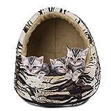 Furhaven Pet Animal Fur Hood - Tiger - One
