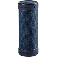 Hapyia Portable Wireless Bluetooth Speaker with Power Bank, 360-Degree 3D Stereo Surround Sound, Waterproof Shockproof and Dustproof (Dark Blue)