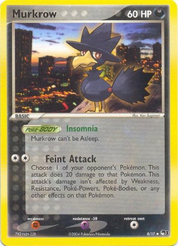 Murkrow 8 / 17 Uncommon POP Series 1