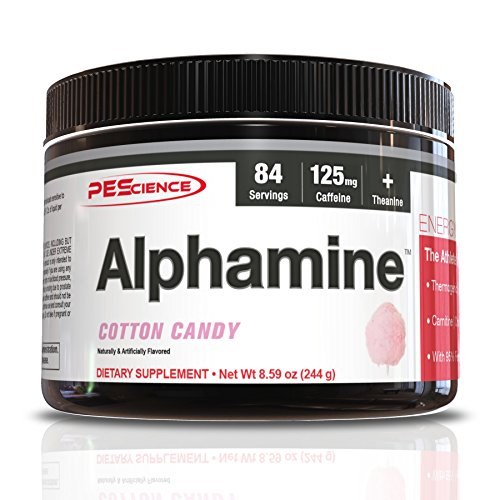 (PEScience Alphamine, Cotton Candy, 8.59 Ounce)