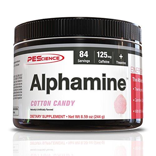 PEScience Alphamine, Cotton Candy, 8.59 Ounce