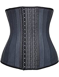 Latex Waist Trainer Slimming Cincher Underbust Corsets Training Tummy Control Body Shaper