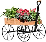 sunjoy Iron Wood Flower Stand For Sale