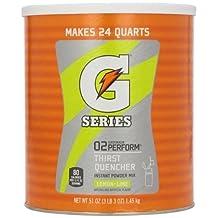 Gatorade Powdered Drink Mix - LEMON-LIME 102 oz by Gatorade