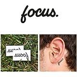 Tattify Motivational Quotes Temporary Tattoos