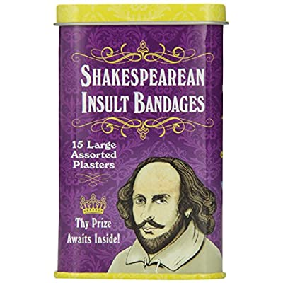 Accoutrements Shakespearean Insult Bandages: Toys & Games