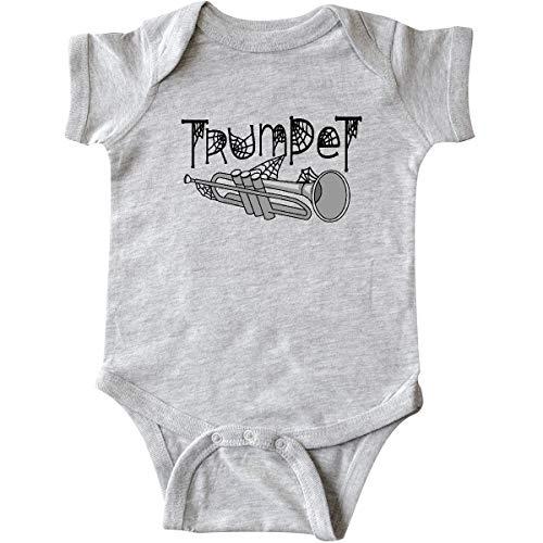 inktastic - Trumpet Halloween Infant Creeper 12 Months Heather Grey 2d403 ()