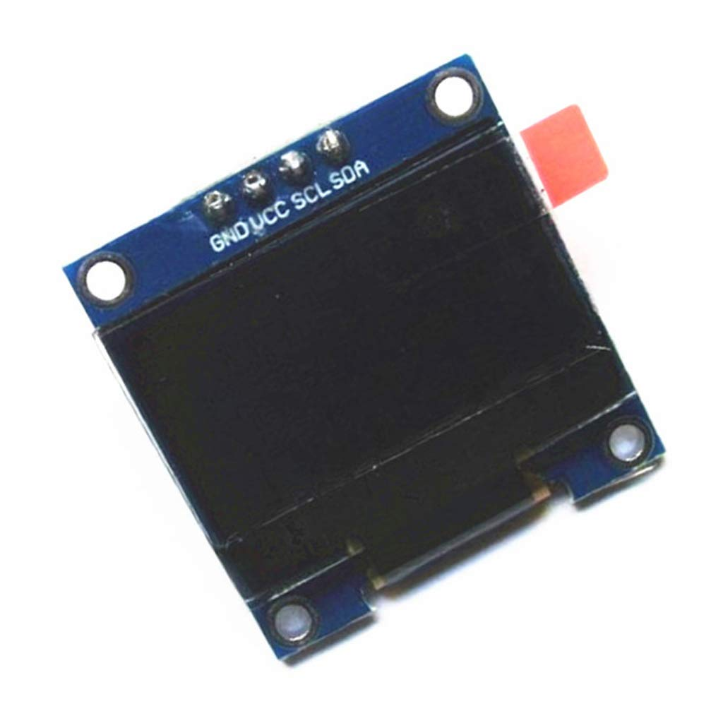 FLAMEER Diymall 0.96 Inch Yellow/&Blue I2c IIC Serial 128x64 OLED LCD LED Display Module for Arduino Micro:bit Pack of 1pcs
