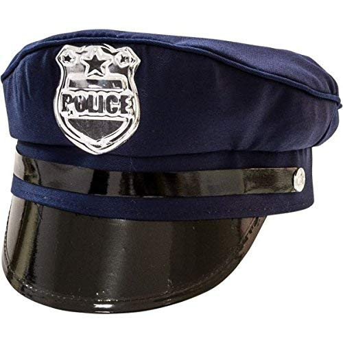 Amscan Police Hat - Costume Accessory -
