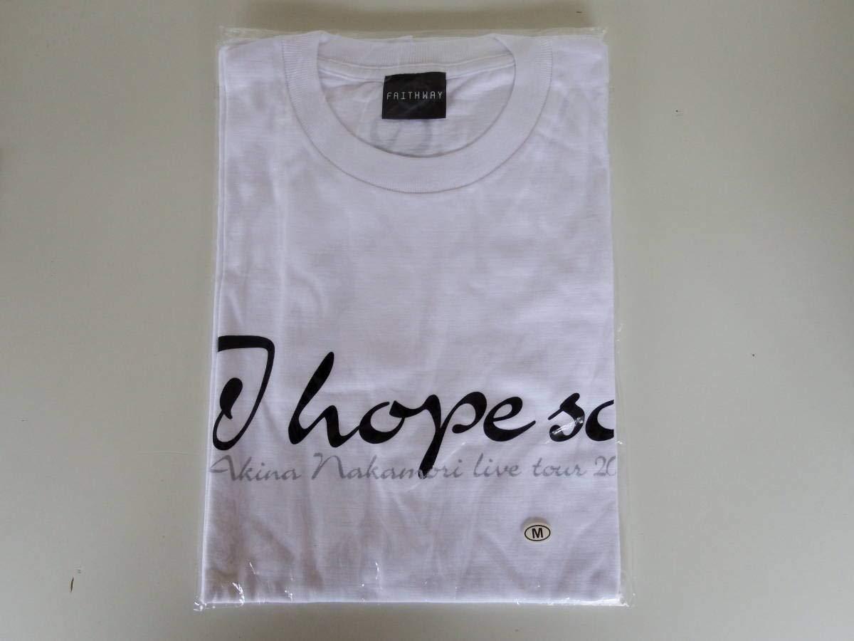 中森明菜 2003 I hope so ツアー 記念Tシャツ   B07PYNYFK9