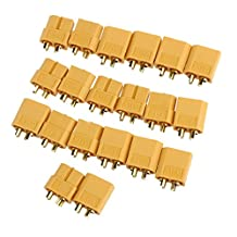 SODIAL(R) 10 pairs XT60 female / male bullet Connectors for RC Battery